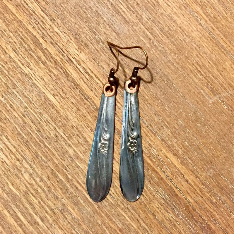 SOLD Silver Plated Earrings