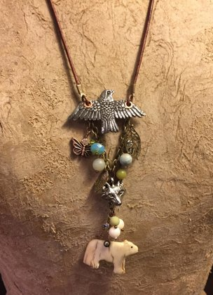 Custom Nature in Alaska Necklace for M. Wilson