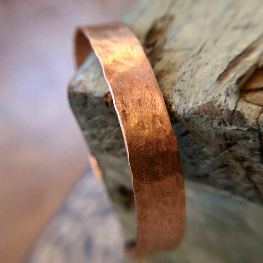 Hand Hammered Copper Cuff