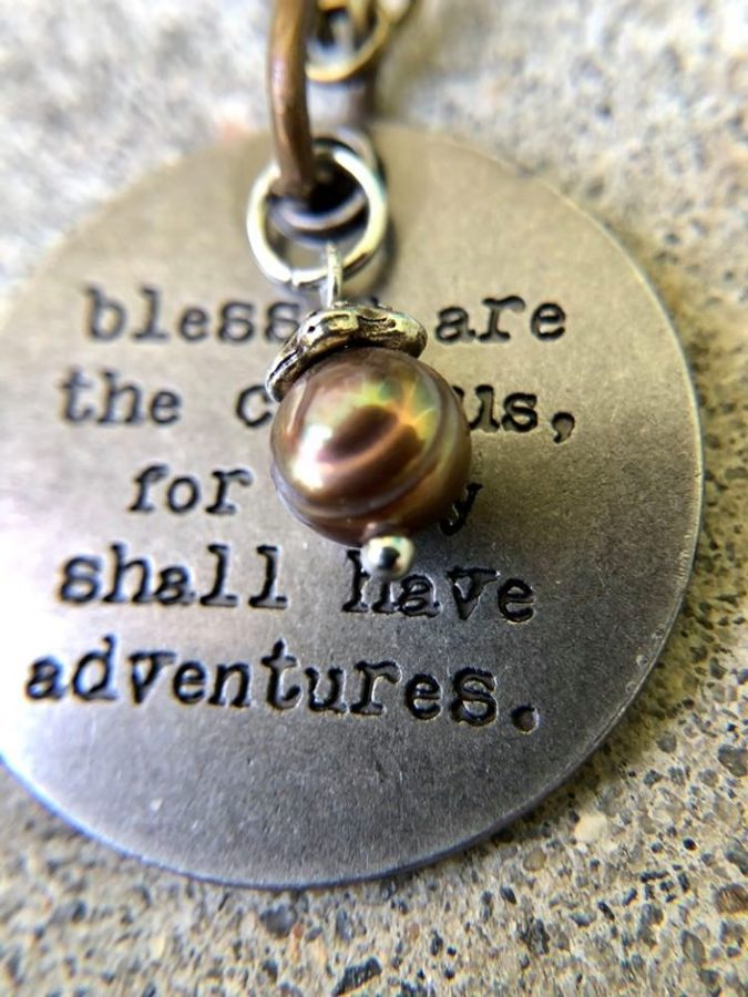 Travel the world over to find the beautiful...necklace