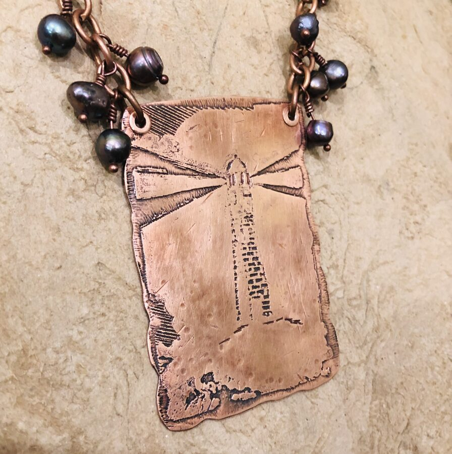 Copper Necklace - A Light in the Storm