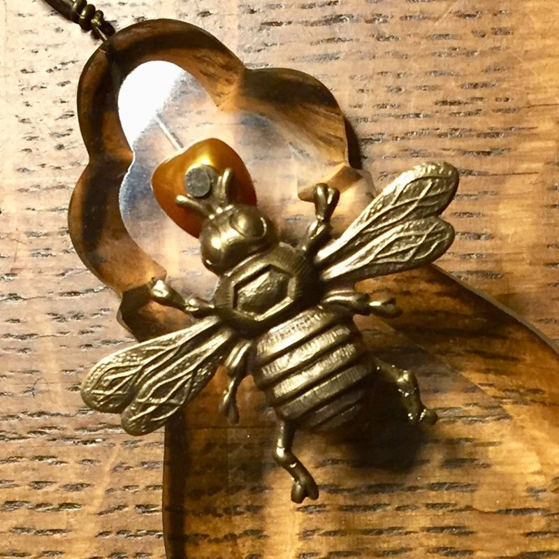 SOLD Bee Necklace