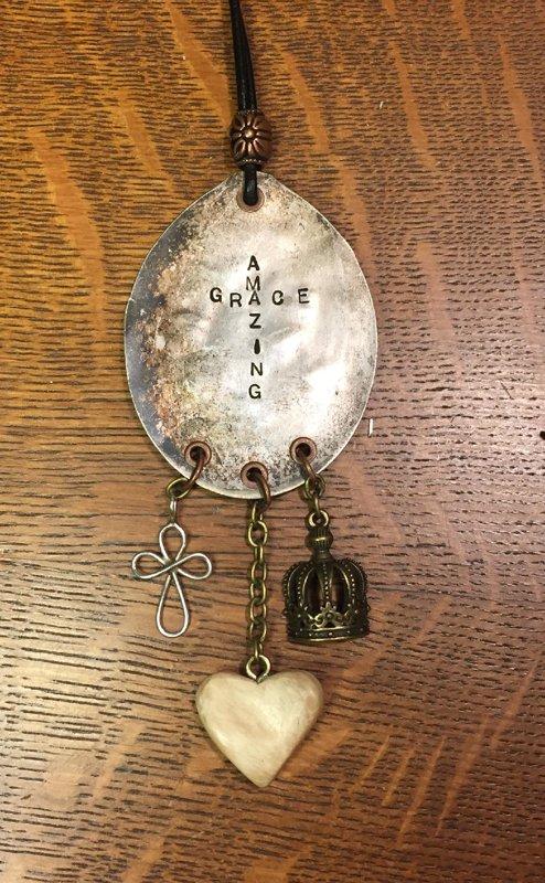Custom Amazing Grace Necklace for M. Wilson