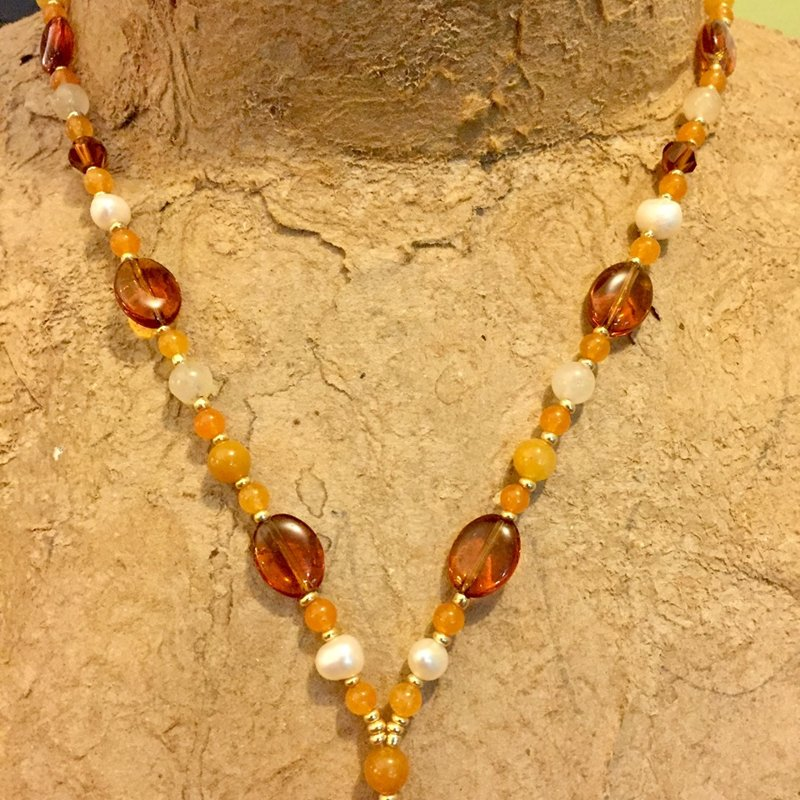 SOLD Honey Necklace