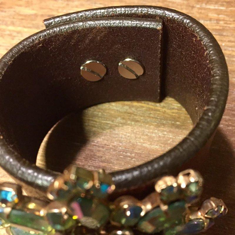 SOLD Mermaid Vintage Brooch Cuff