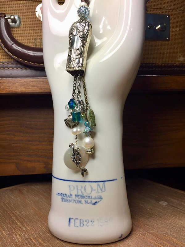 SOLD Mermaid's Village Under the Sea Necklace and Bracelet Set