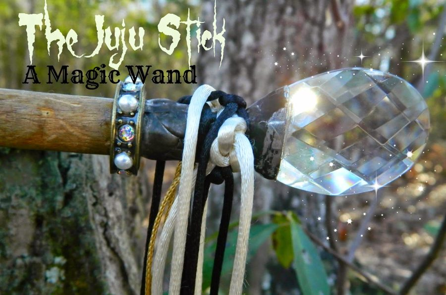 SOLD Art Piece - Magical Juju Stick