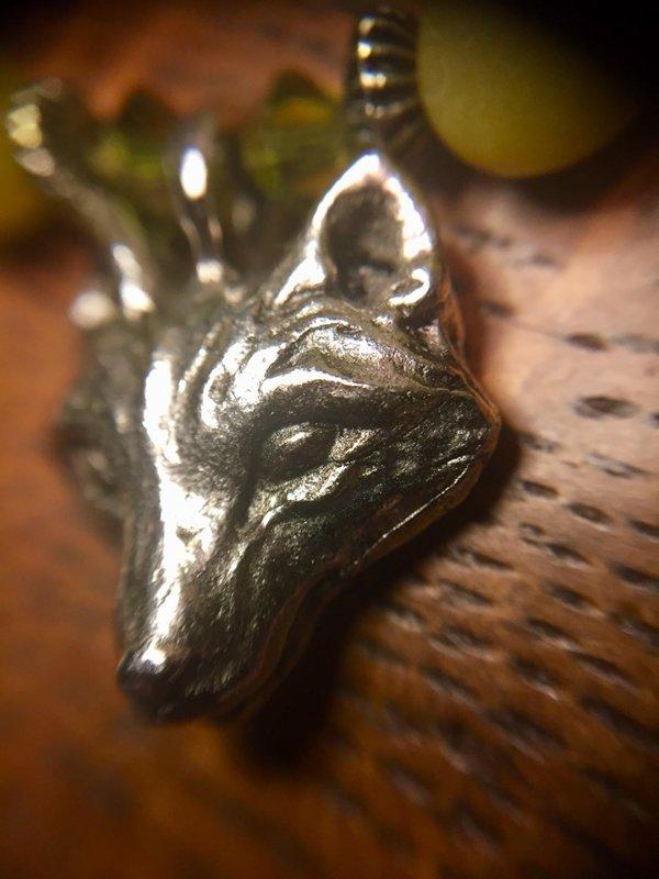 SOLD Wolf Choker